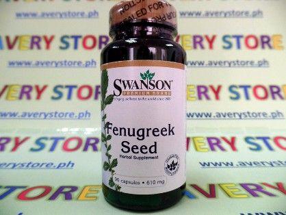 swanson fenugreek sees 610 mg 90 caps, fenugreek, swanson fenugreek seed, -- Everything Else Marikina, Philippines