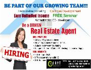 Hiring Agent in Real Estate, Part Time/ FullTime Real Estate Agent, Real Estate Agent in The Philippines -- Real Estate Jobs -- Metro Manila, Philippines