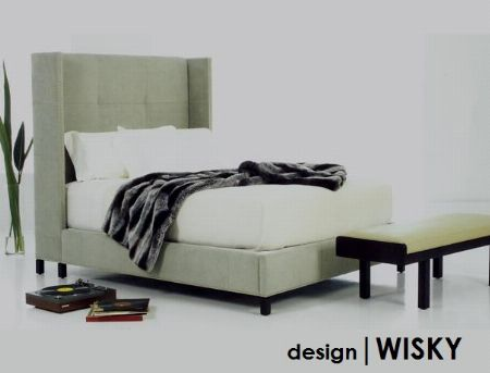 Upholstered Bed -- Furniture & Fixture -- Manila, Philippines