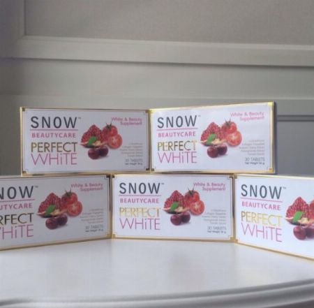 Snow Perfect White Glutathione Capsule -- All Health and Beauty Metro Manila, Philippines