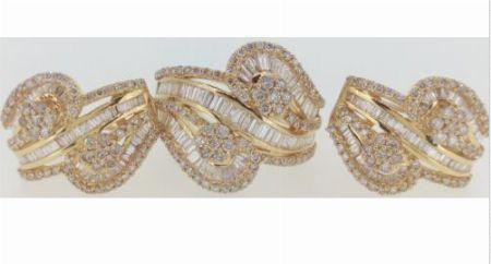 Natural Diamond,Diamond Earrings,Diamond Ring,Diamond Jewelry Set -- Jewelry -- Pampanga, Philippines