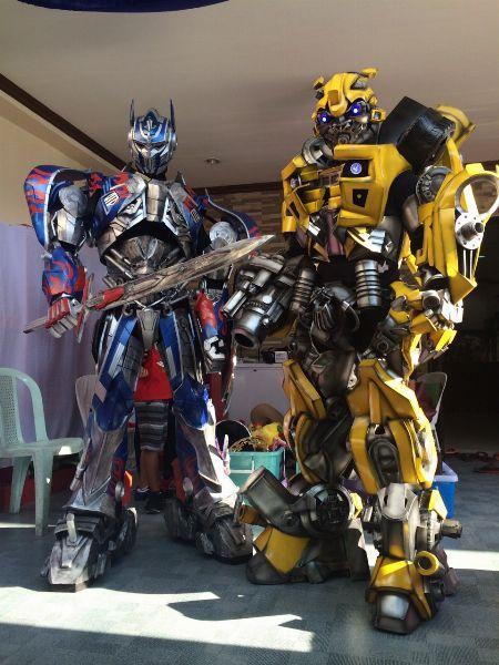 optimus prime, bumblebee, mirage, sentinel prime, sponge bob, MASCOT FOR RENT, IRONMAN, DARTH VADER, STORM TROOPER -- Birthday & Parties -- Metro Manila, Philippines