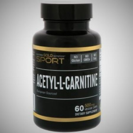 California Gold Nutrition, CGN, Sport, Acetyl-L-Carnitine, 500 mg, 60 Veggie Caps -- Nutrition & Food Supplement Metro Manila, Philippines