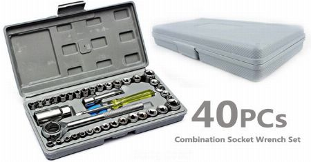 Aiwa Combination Socket Wrench Ratchet Screwdriver Set Motorcycle -- Home Tools & Accessories -- Metro Manila, Philippines