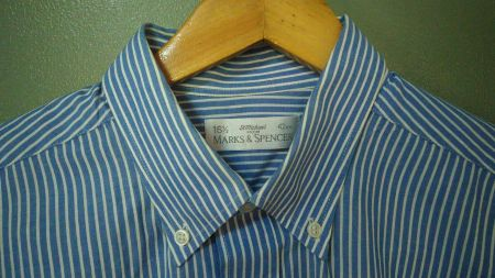 Marks and Spencer,  St. Michaels, long sleves, polo, plus size, for men, authentic -- Clothing -- Metro Manila, Philippines