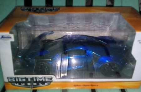 Lykan Hypersport Jada Metallic Blue Diecast -- Limited Editions -- Metro Manila, Philippines