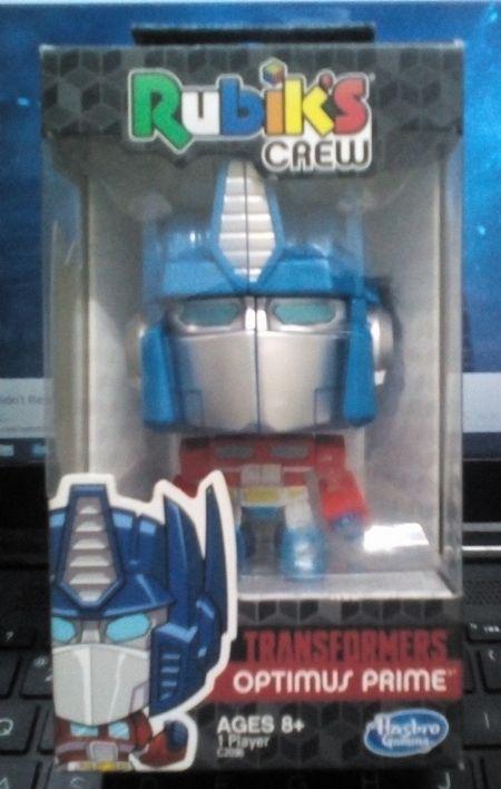 Transformers Optimus Prime Rubiks Crew Hasbro -- Limited Editions Metro Manila, Philippines
