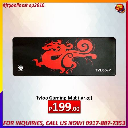 Tyloo Gaming Mat (large) -- All Computers Metro Manila, Philippines
