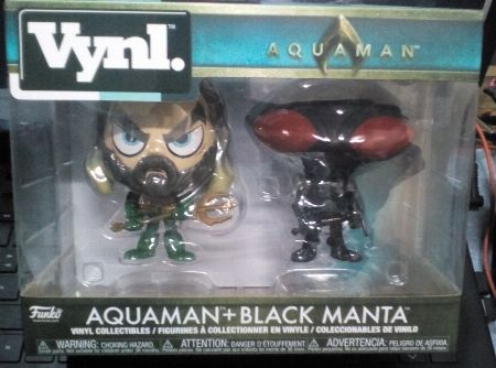 Aquaman Vnyl Funko 2 Pack -- Limited Editions Metro Manila, Philippines