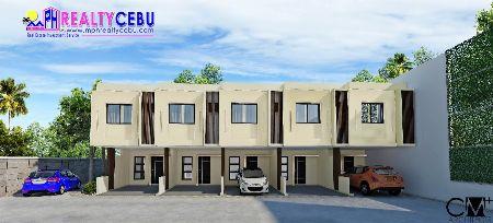 80m², 2 Bedroom Townhouse in Pusok Mactan Lapu Lapu -- House & Lot -- Cebu City, Philippines
