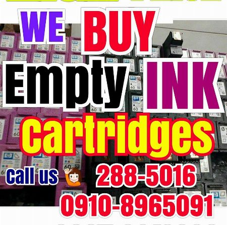 We buy and sell inks and toner cartridges -- Printers & Scanners Metro Manila, Philippines