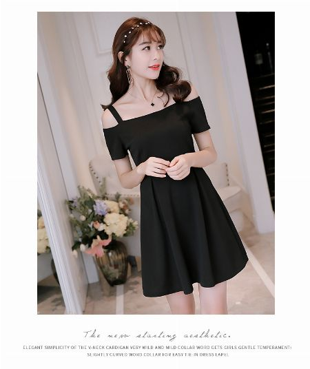 Dress, Formal, Casual, Black -- Clothing -- Quezon Province, Philippines