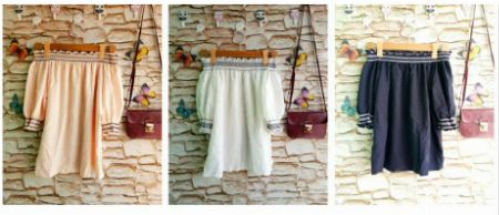 Offshoulder, Tops, Summer -- Clothing -- Quezon Province, Philippines