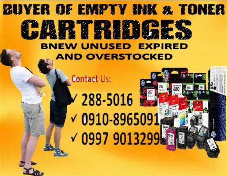 empty ink cartridges bnew unused expired overstocked -- Printers & Scanners Metro Manila, Philippines