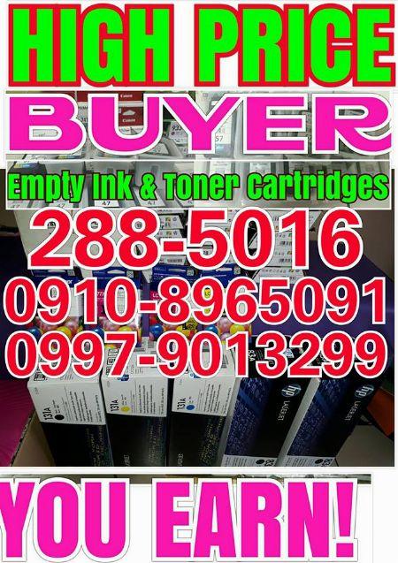 We buy empty brand new expired at highprice -- Printers & Scanners Metro Manila, Philippines