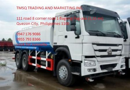 10 Wheeler HOWO A7 Water Truck, 380HP, 20,000L with 2 Squirt Gu -- Other Vehicles Metro Manila, Philippines