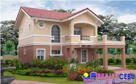 Emerald - 6BR 3T&B House at Camella Riverdale Talamban Cebu -- House & Lot Cebu City, Philippines