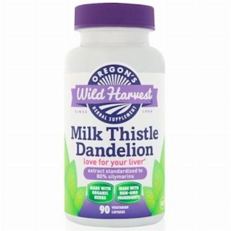 Oregon's Wild Harvest, Milk Thistle Dandelion, 90 Vegetarian Capsules -- Nutrition & Food Supplement Metro Manila, Philippines