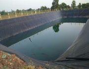 Polyethylene Sheet Slab on Grade Greenhouse Film Fish Pond Liner -- Architecture & Engineering -- Cavite City, Philippines