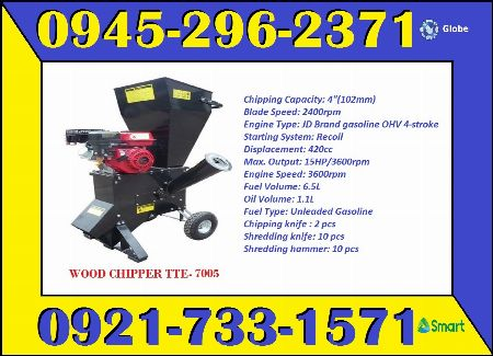 wood chipper -- Other Vehicles -- Metro Manila, Philippines