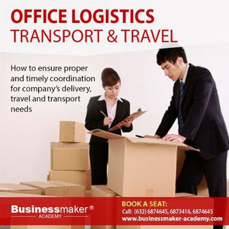 Office Logistics, Transport and Travel, Office Administration, Seminar, Training -- Seminars & Workshops Pasig, Philippines