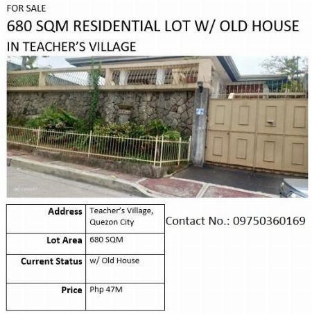 Teacher's Village  Residencial -- House & Lot Metro Manila, Philippines