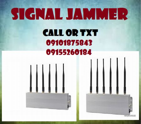 Signal Jammer including 3G and 4G Wifi -- Everything Else -- Metro Manila, Philippines