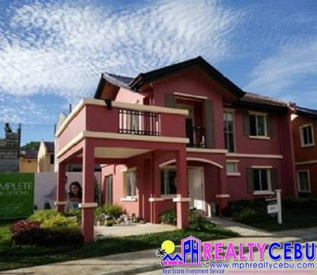 CAMELLA - FREYA 4 BEDROOM HOUSE IN PIT-OS CEBU CITY -- House & Lot Cebu City, Philippines
