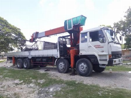 hyundai crane boom truck 10 tons 12 wheeler -- Other Vehicles -- Rizal, Philippines