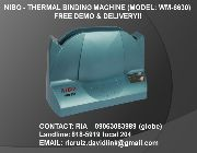 binder, comb binder, plastic binder, wire binder, thermal binder, double loop binder -- Office Equipment -- Makati, Philippines