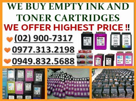 buyer of empty ink cartridges -- Printers & Scanners Metro Manila, Philippines