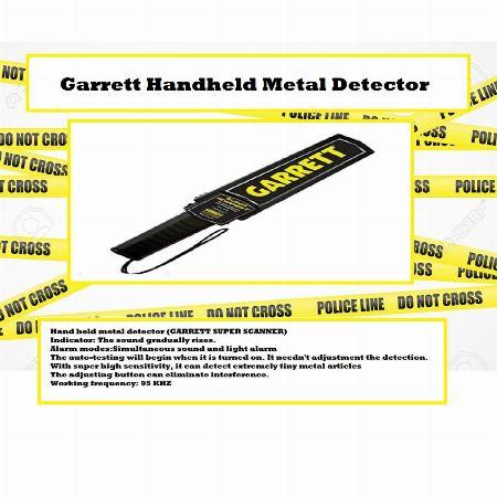 Garrett Handheld Metal Detector -- Wanted Pasig, Philippines