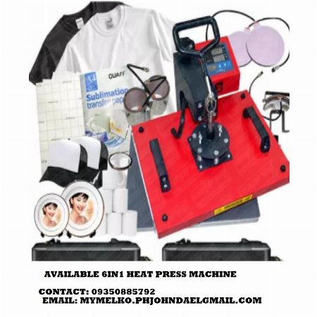 HEAT PRESS MACHINE AVAILABLE 6IN1 -- Wanted Pasig, Philippines
