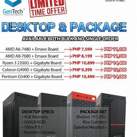 Desktop -- All Desktop Computer -- Metro Manila, Philippines