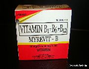 Vitamin B Complex for sale Philippines, where to buy Vitamin B Complex in the Philippines, Vitamin B1 B6 B12 for sale Philippines, where to buy Vitamin B1 B6 B12 in the Philippines -- All Health and Beauty -- Quezon City, Philippines