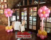 party package, birthday package, graduation promo, clowns, balloon decors, sound system, face paint, styro backdrop, shairish balloons, photo booth -- Birthday & Parties -- Quezon City, Philippines