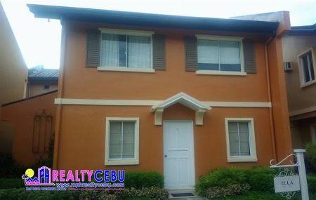 CAMELLA RIVERFRONT-ELLA MODEL 5BR HOUSE IN TALAMBAN CEBU CITY -- House & Lot Cebu City, Philippines