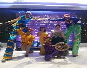 stilt walker, unicyclist, juggler, mime, -- Birthday & Parties -- Metro Manila, Philippines