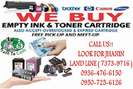 BUYER OF EMPTY INK CARTRIDGES AND TONER -- Printers & Scanners Antipolo, Philippines