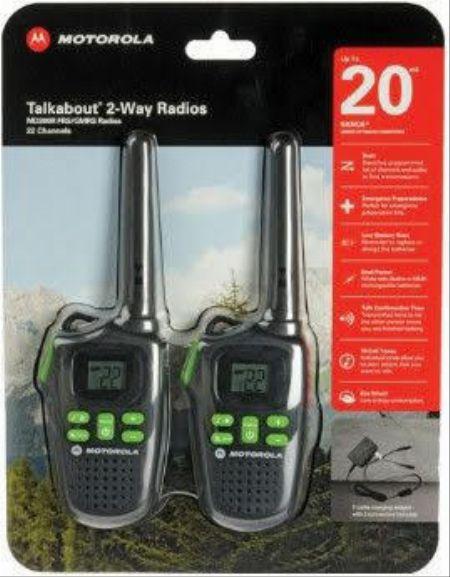 MOTOROLA TALK ABOUT -- Radio and Walkie Talkie -- Metro Manila, Philippines