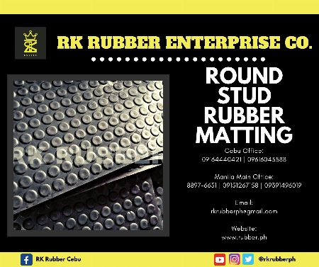 Direct Supplier, Direct Manufacturer, Reliable, Affordable, High-Quality, Rubber Bumper, RK Rubber, Rubber Seal, Rectangular Rubber Bumper, Round Rubber Bumper, Rubber Pad, Rubber Impeller, Rubber Stair Nosing, Rubber Matting, Round-Stud Rubber Matting -- Architecture & Engineering -- Cebu City, Philippines