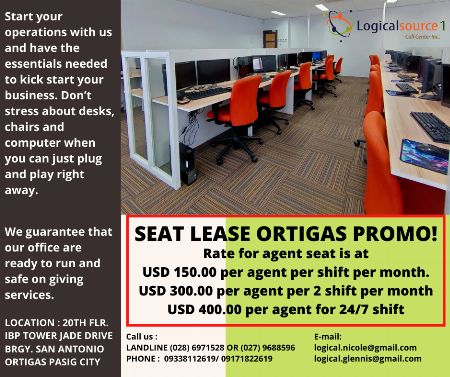 SEATLEASE -- Other Services Pasig, Philippines