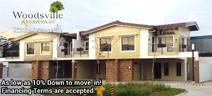 woodsville townhouse, merville townhouse, woodsville residence, -- Condo & Townhome -- Metro Manila, Philippines