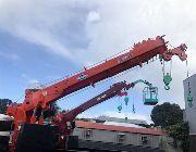 boom truck, crane, cargo crane, man lift, truck, 15 tons, daewoo, -- Trucks & Buses -- Metro Manila, Philippines