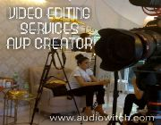 video productions, digital video ads, video editing, corporate videos, avp, commercial videos, digital video ads -- Advertising Services -- Metro Manila, Philippines