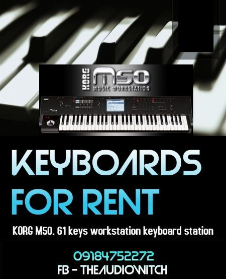 keyboards for rent, musical instruments for rent, band equipment for rent -- All Event Planning -- Metro Manila, Philippines