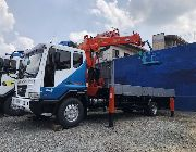 boom truck, manlift truck, manlift, 7 tons crane, 7 tons, crane, cargo crane, man lift, truck, 15 tons, daewoo, -- Trucks & Buses -- Metro Manila, Philippines