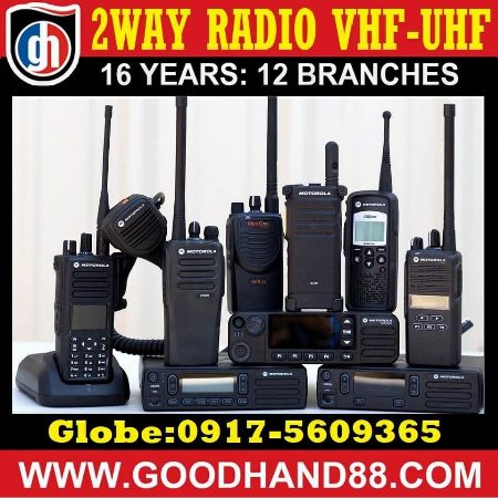 Motorola Kenwood ICOM Hytera Radio -- Marketing & Sales -- Metro Manila, Philippines