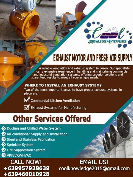 Air con Services -- Other Services Bulacan City, Philippines