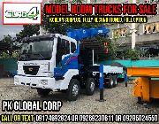 boom truck, crane, cargo crane, man lift, truck, 15 tons, daewoo, -- Other Vehicles -- Metro Manila, Philippines